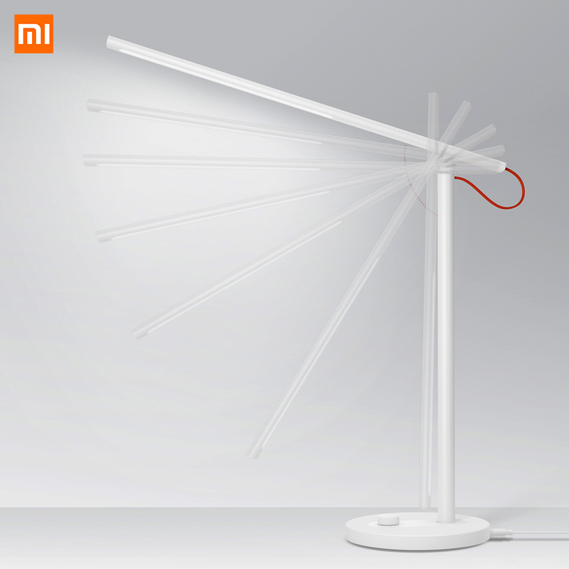 Image 1 - Xiaomi Mijia Mi Smart LED Desk Lamp Table Lamp Dimming Reading Light WiFi Enabled Work with AMZ Alexa IFTTT-in Smart Remote Control from Consumer Electronics