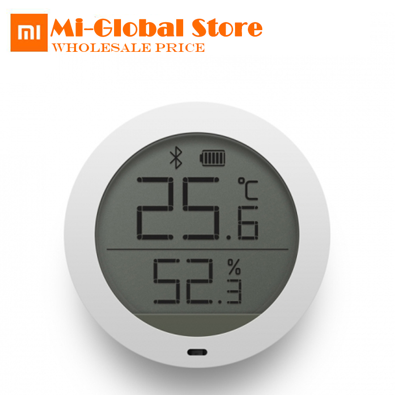 Xiaomi Mijia Bluetooth Hygrothermograph High Sensitive Hygrometer Thermometer LCD Screen smart Temperature Humidity Sensor цена 2017