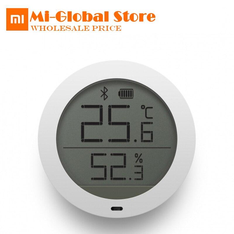 Xiaomi mijia <font><b>Bluetooth</b></font> гигротермограф Высокочувствительный Термометр-Гигрометр ЖК-дисплей Экран Smart Температура влажность Сенсор