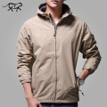 New Jacket Men Casual Hooded Mens Spring Jacket Fashion Windbreaker Jackets Male Brand Clothing Autumn Man Coats and Jackets 4XL