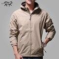 Nuevos hombres de la chaqueta casual con capucha para hombre primavera chaqueta rompevientos chaquetas de moda masculina marca clothing otoño abrigos y chaquetas de hombre 4xl
