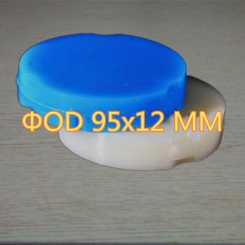 10 Piece 95x12 MM Blue / White Dental Wax Blanks For CAD CAM Milling Zirkonzahn System Casting Wax Disc Crown Bridge