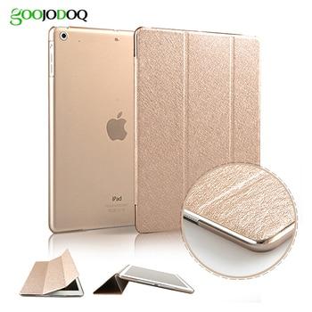 Case for iPad Air 2 / Air 1 / Mini 3 2 1 Cover, Slim Silk PU Leather+ PC Hard Back Smart Cover for iPad Air Case Auto Sleep/Wake