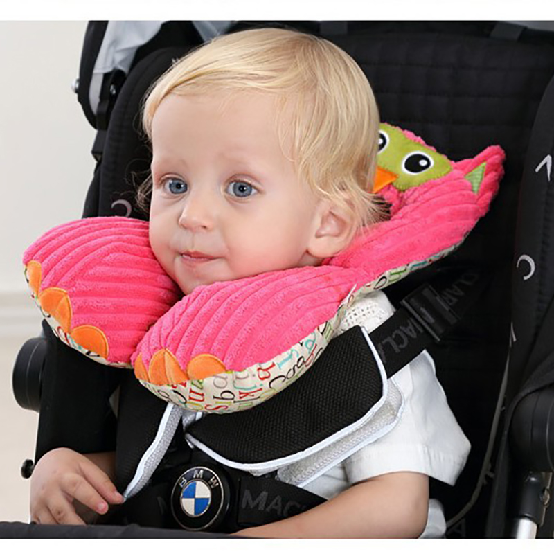 Newborn Pillow Baby Neck Pillow Baby Travel Portable Pillow Baby Car Seat Pillow 0 24 Months Baby Headrest in Head Body Supports from Mother Kids