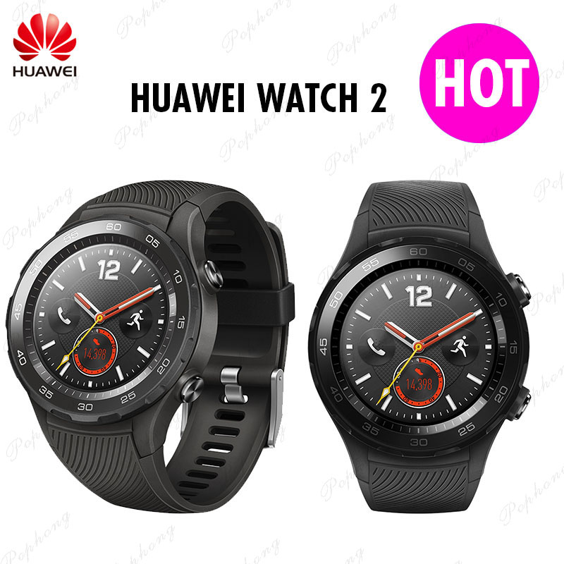 Original Global Rom Huawei Watch 2 Smart Watch Support bluetooth LTE4G HeartRate Tracker For Android iOS