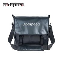 Godspeed pvc tarpaulin messenger bag waterproof fashion shoulder bag multi functional sling business bag for men