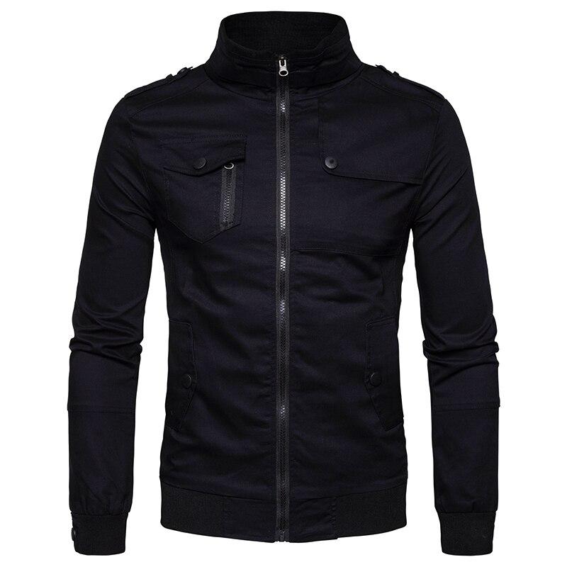 2019 Autumn Mens Leather Jacket Men Coat Casual Fashion Baseball Collar Faux Fur Coat Slim Fit