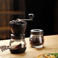 High Quality Manual Ceramic Burr Coffee Grinder Hand Mill Espresso Beans Grinding Machine Coffee Mills Grinder