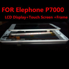 FOR Elephone P7000 LCD Display +Touch Screen +Frame+ Tools 100% Original Digitizer Assembly Replacement Accessories For Phone