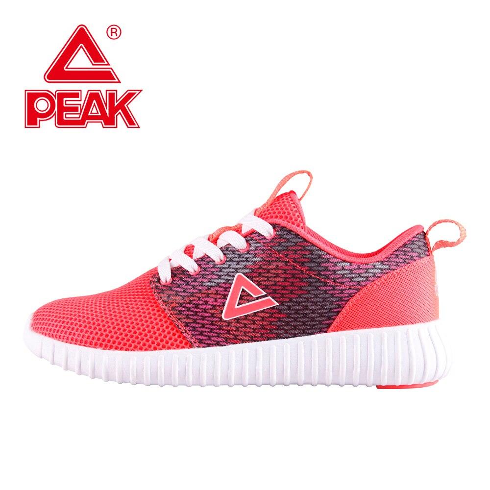 Пик Кроссовки для Для женщин сетки свет Кроссовки спортивные Кроссовки Удобная прогулочная обувь для фитнеса Training