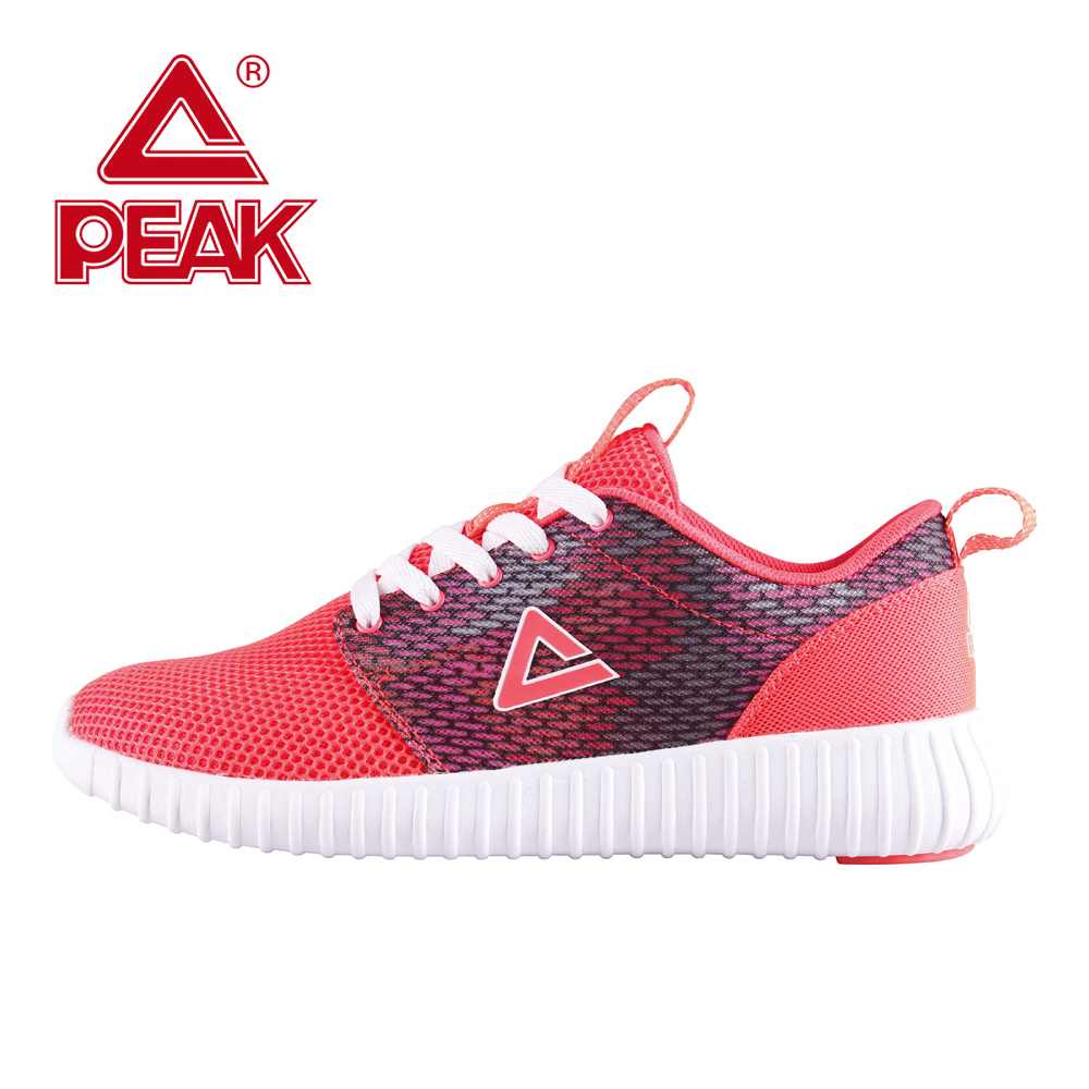 PEAK Running Shoes For Women Mesh Light Running Shoes Athletic Running Shoes Comfortable Outdoor Walking Fitness Shoes Training кардиометр running