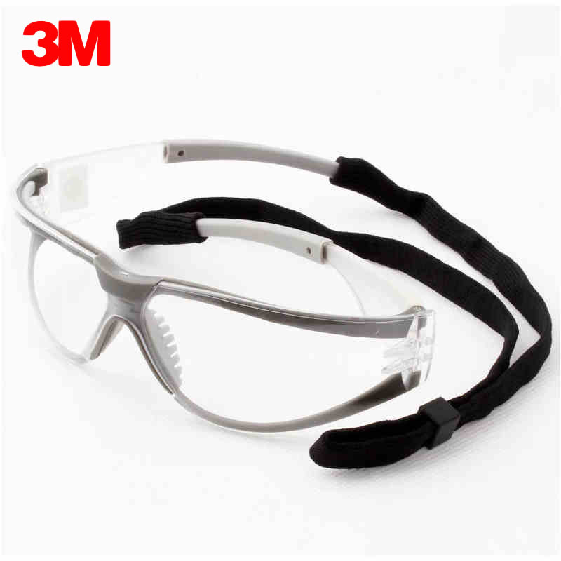 3M 11394 Safety Glasses Protective Goggles Anti-Fog UV Antisand Windproof Dust Resistant Transparent Glasses Working eyewear 3m 1711 safety protective glasses anti shock windproof anti uv lightweight riding eyewear goggles g2305