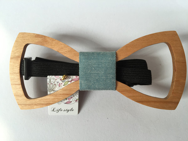 Handmade Bow Tie Wooden Gifts Wood Accessories For Men Unique XK064