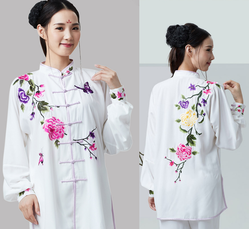 Martial Arts Embroidery Tai Ji Suit Woman