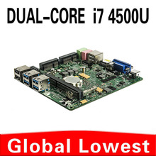 2015 New I7 4500u mini motherboard I7 4500u mainboard industrial mini itx with 1*HDMI,6*USB for 1 lan port
