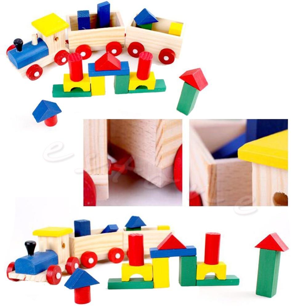 Toys & Hobbies Collection Here Kids Developmental Toy Toddler Wooden Train Truck Set Geometric Blocks Gift-p101 Nourishing The Kidneys Relieving Rheumatism