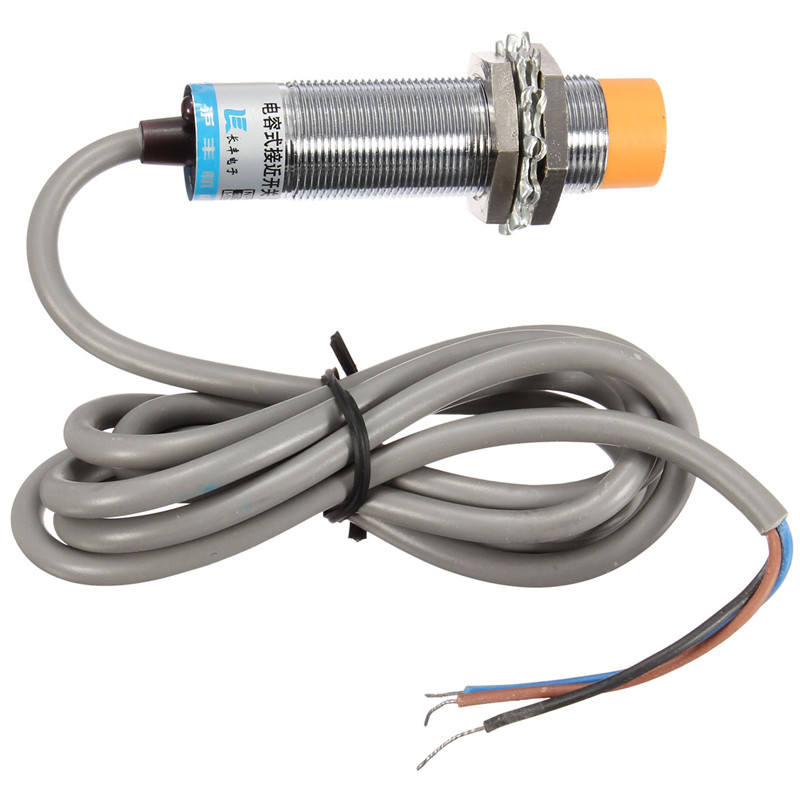 Electric LJC18A3-H-Z/BX Approach Sensor Cylindrical Capacitive Proximity Switch NPN 6-36V New m18 no npn 8mm approach sensor inductive proximity switch 5vdc lj18a3 8 z bx 5v