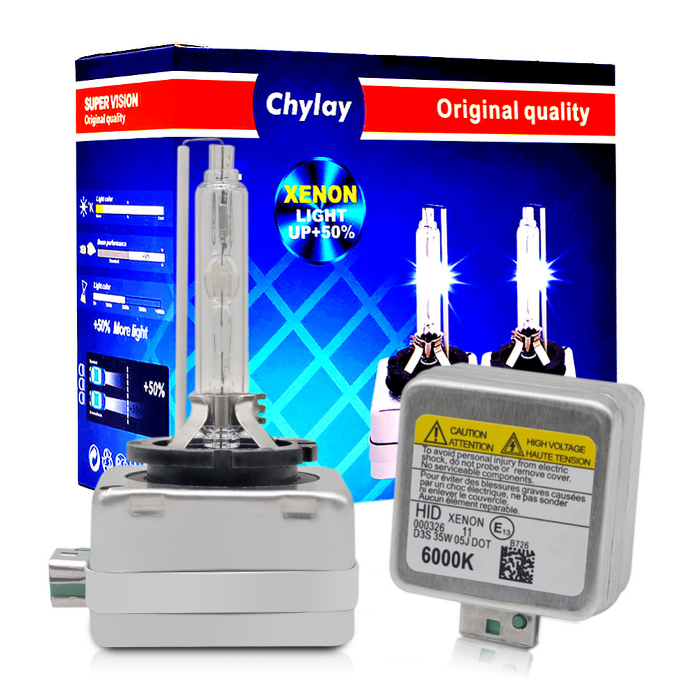 1 par D3S Xenón HID bombilla 12 V 35 W d3s lámpara de xenón para el coche faro LUZ DE REEMPLAZO D3S D3C 4300 K 5000 K 6000 K blanco