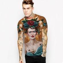 Fashion Harajuku Women/Men Frida Kahlo Cute Character 3D Funny Print T Shirt Casual Tee Shirts Short Sleeve 3D Tops T Shirt