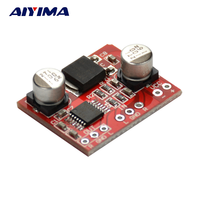 AIYIMA MAX4410 HIFI Headphone Amplification Audio Board Audio Preamplifier Board AMP DC3-12V image