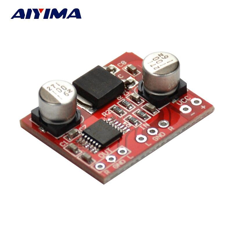 Aiyima MAX4410 HIFI Cuffie di amplificazione Audio Consiglio Pre-amplificatore di Bordo DC3-12V