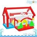 Brinquedos Infantis Melhor Presente da Casa Do Salto inflável Biggors Decoração Do Natal Inflável Slide Parque de Diversão Ao Ar Livre