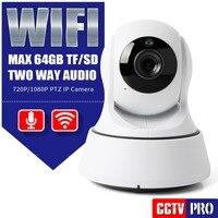 HD 720P 1080P Wifi IP Camera PTZ Security IR Night Vision Two Way Audio Smart CCTV