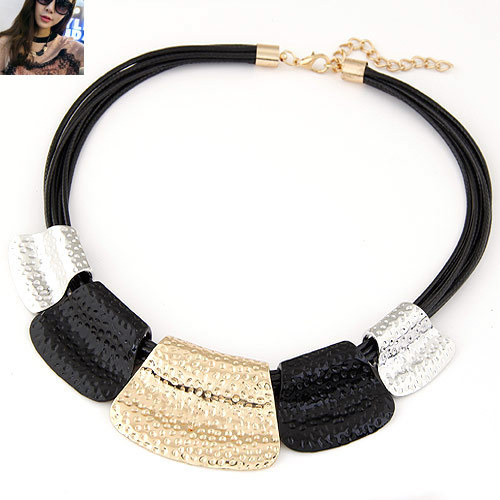 f4abb3fa0ee Vintage Choker Statement Necklace Women Bijoux Rope Chain Geometric  Necklaces & Pendants Big Chunky Necklaces Summer Jewelry-in Choker Necklaces  from ...