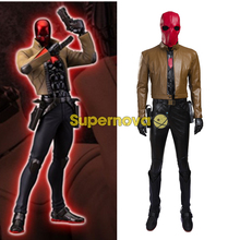 Supernova DC Batman Cosplay Costume Jason Todd Red Hood Cosplay Costume Outfit Red Hood Costume Superhero cosplay costume