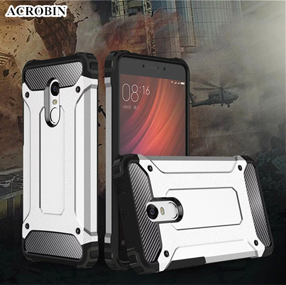 Voongson For Xiaomi Redmi Note 4 Cases Luxury Protective Back Cover Brushed Carbon Armor Hard Soft Case Mi5s Mi 5s Slim Anti Shock Silicone Hybrid Pc Phone 5 Plus Max Note2 3 Pro 3s Prime 4a