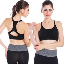 Women Seamless Yoga Bra Top Comfortable Bra Push up For Yoga Sports Sleep Fitness Clothing Skirts ropa deportiva Yoga Top
