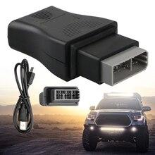 Interfaz USB de diagnóstico de coche, herramienta de Cable de código de error OBD, 14 pines, para venta al por mayor, envío directo
