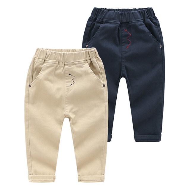 Boys Trousers With Elastic Waist, 3 To & Years