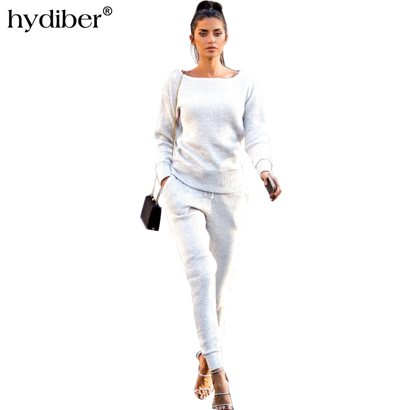 2018 New Fashion women's clothing Foreign Trade New Pattern Woman Leisure Time Suit Long Sleeve Wear Woman thumbnail