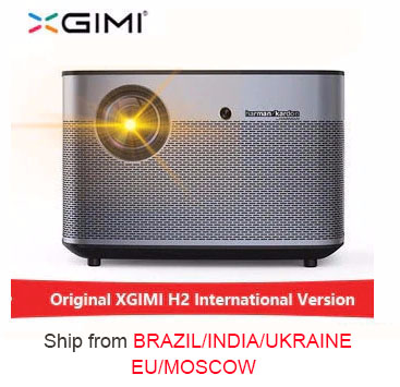 XGIMI H2 1920*1080 dlp proyector Full HD 1350 lúmenes ANSI 3D proyector 4 K Bluetooth wifi Android beamer