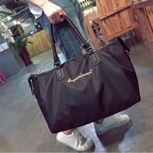 6adaf712ca Roadfisher Women Men Waterproof Nylon Handbag Sport Gym Training Bag Carry  Light