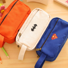 Super Hero Pencil Large Capacity Pencil Bag