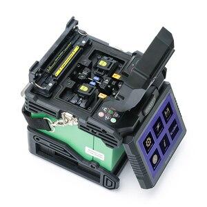 Image 3 - Komshine أحدث GX37 البصرية الألياف الانصهار جهاز الربط مع زوج واحد أقطاب و KF 52 عالية الدقة البصرية الألياف الساطور