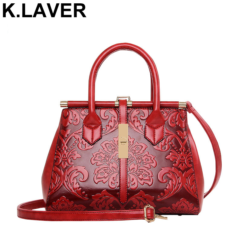 Fashion Leather Women Handbag Women's Messenger Bag Female Satchel Shoulder Bag Chinese Style Ladies Crossbody Bags sac a main new fashion women girl student fresh patent leather messenger satchel crossbody shoulder bag handbag floral cover soft specail