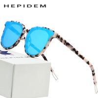 Acetate Cat Eye Sunglasses Women 2018 Big Oversize Kurt Cobain Sun Glasses for Women Brand Designer Goggles Nylon Mirror Lens