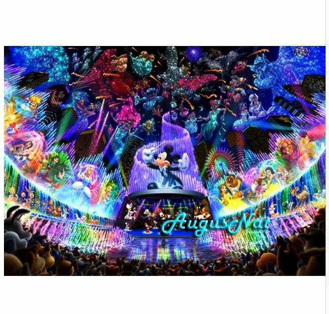 ミッキーマウスダイヤモンド塗装フル平方漫画フィギュア壁アート画像 5d ダイヤモンド dotz おもちゃダイヤモンドステッカー子供ペイント