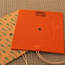 Keenovo силиконовый нагреватель 3d принтер нагреватель, лучшая замена RepRap, печатная плата нагреватель Heatbed, первый класс гарантированное качество