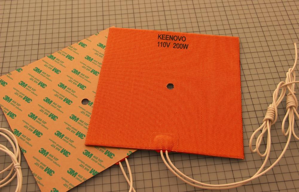 Keenovo silikona sildītāja 3D printera sildītājs, labāka Reprap - Mājsaimniecības preces