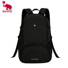 OIWAS Многофункциональный одноцветное Цвет Для мужчин Для женщин ноутбук рюкзак Бизнес Стиль сумка школьная сумка черный