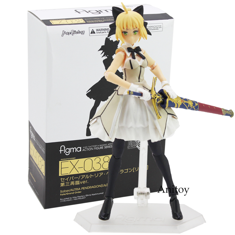 Figma EX-038 Fate/Grand Order Saber Lily Third Ascension Ver. PVC Action Figure Collectible Model Toy 14cmFigma EX-038 Fate/Grand Order Saber Lily Third Ascension Ver. PVC Action Figure Collectible Model Toy 14cm