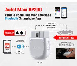 Image 4 - 하나의 무료 차량 소프트웨어로 모든 시스템 진단과 오리지널 Autel Maxi AP200 obd2 스캐너 블루투스 어댑터