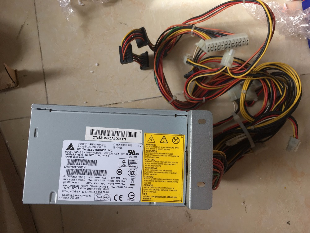 100% working power supply For ML150 G6 ML330 G6 466610-001 519742-001 DPS-460DB-2 A,Fully tested. цена