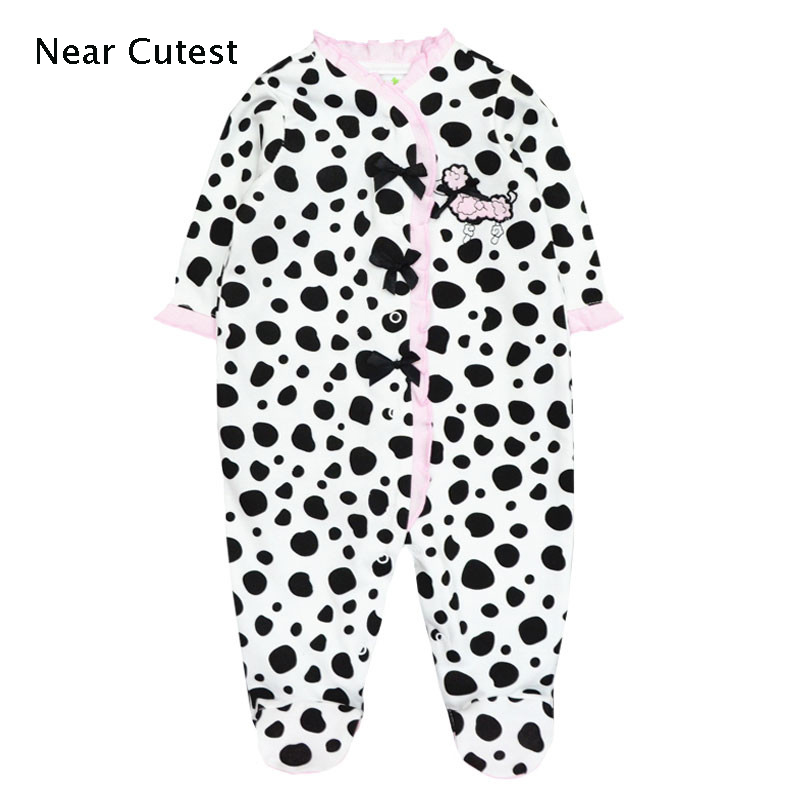 Unisex Baby Clothes Spring Long Sleeve Cotton Newborn Baby Boy Girl Rompers costumes for girls