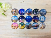 цены на China, Shang Hai  tourist souvenirs, Crystal Glass Magnetic Refrigerator Magnet, gifts for friend, 15kinds of style  в интернет-магазинах