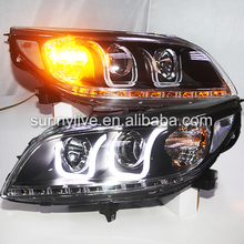 For Chevrolet Malibu led front light U type 2012-2014